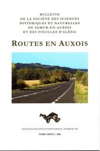 Bulletin de la Société des Sciences (BSSS) 2018-2 (Routes en Auxois)